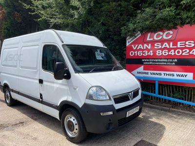 Vauxhall Movano Panel Van 2.5 CDTI 16v 3500 High Roof Van 4dr