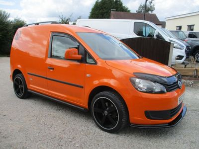 Volkswagen Caddy Panel Van 1.6 TDI BlueMotion Tech C20 Panel Van 4dr