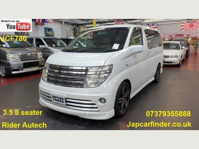 Nissan Elgrand MPV Rider Autech Leather P door camera