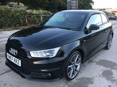 Audi A1 Hatchback 1.4 TFSI CoD Black Edition S Tronic (s/s) 3dr (Nav)