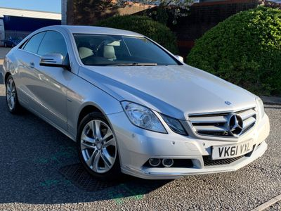 Mercedes-Benz E Class Coupe 1.8 E250 BlueEFFICIENCY SE Edition 125 7G-Tronic Plus (s/s) 2dr