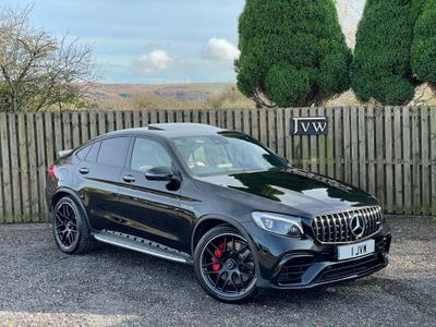 Mercedes-Benz GLC Class Coupe 4.0 GLC63 V8 BiTurbo AMG S (Premium Plus) SpdS MCT 4MATIC+ (s/s) 5dr