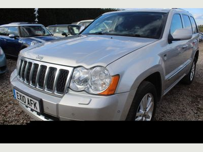 Jeep Grand Cherokee SUV 3.0 CRD Overland Tech 4WD 5dr