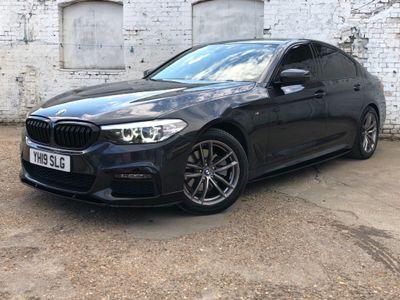 BMW 5 Series Saloon 2.0 520d M Sport Auto (s/s) 4dr