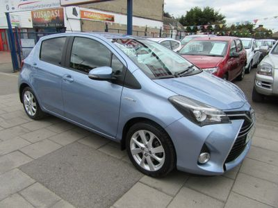 Toyota Yaris Hatchback 1.5 VVT-h Excel E-CVT 5dr (Safety Sense, 15in)