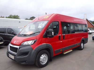Peugeot Boxer Minibus 2.2HDI 440 130bhp L4 H2 17 SEAT MINIBUS