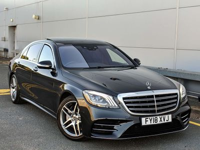 Mercedes-Benz S Class Saloon 3.0 S500L EQ Boost AMG Line (Executive) G-Tronic+ (s/s) 4dr