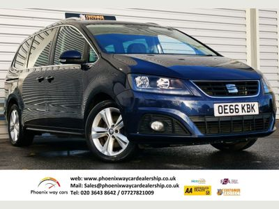 SEAT Alhambra MPV 2.0 TDI SE Lux DSG (s/s) 5dr