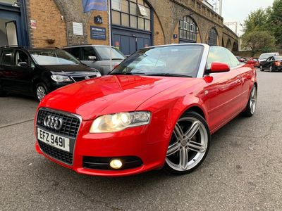 AUDI A4 CABRIOLET Convertible 2.0 TFSI S line Special Edition Cabriolet Multitronic 2dr