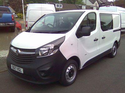 Vauxhall Vivaro Combi Van 1.6 CDTi 2900 BiTurbo Crew Van L1 H1 EU6 (s/s) 5dr (6 Seat)