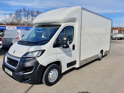 Peugeot Boxer Luton Low-Loader Luton 130ps - Air Susp Eu6