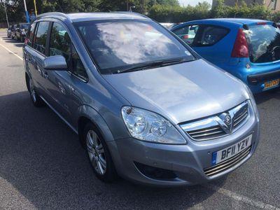 Vauxhall Zafira MPV 1.7 TD Elite 5dr