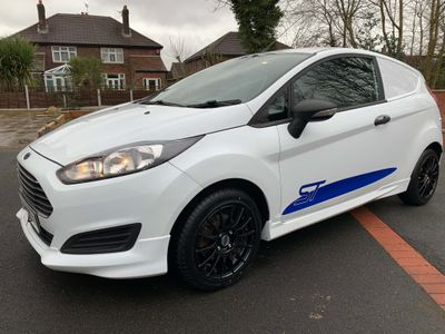 Ford Fiesta Car Derived Van RS LOOK A LIKE VAN, BODY KIT AND ALLOYS