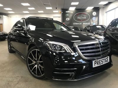 Mercedes-Benz S Class Saloon 3.0 S450L Grand Edition (Rear Luxury Lounge) G-Tronic+ (s/s) 4dr