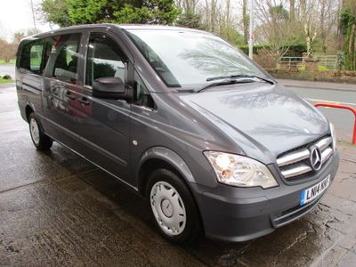 Mercedes-Benz Vito Other 2.1 113CDI BlueEFFICIENCY Shuttle Long Bus 5dr (EU5, 8 Seats)