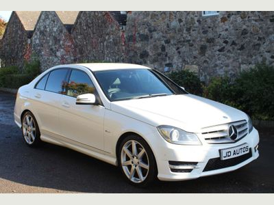 Mercedes-Benz C Class Saloon 2.1 C200 CDI BlueEFFICIENCY Sport Edition 125 4dr