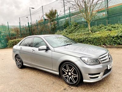 Mercedes-Benz C Class Saloon 2.1 C250 CDI BlueEFFICIENCY AMG Sport Plus 7G-Tronic Plus 4dr (Map Pilot)