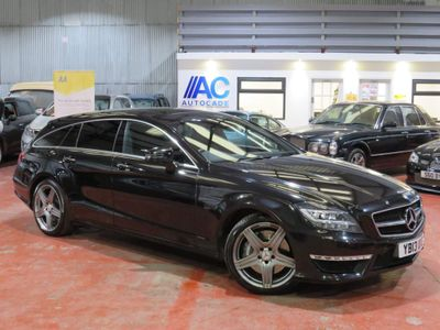 Mercedes-Benz CLS Estate 5.5 CLS63 BlueEFFICIENCY AMG Shooting Brake 7G-Tronic Plus (s/s) 5dr
