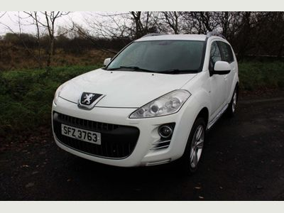 Peugeot 4007 SUV 2.2 HDi FAP GT 5dr