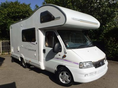 Fiat DUCATO 15 MWB JTD C/C Campervan Swift 590 RS Lifestyle