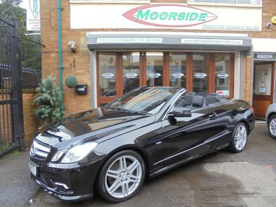 Mercedes-Benz E Class Convertible 1.8 E250 BlueEFFICIENCY Sport Cabriolet G-Tronic 2dr