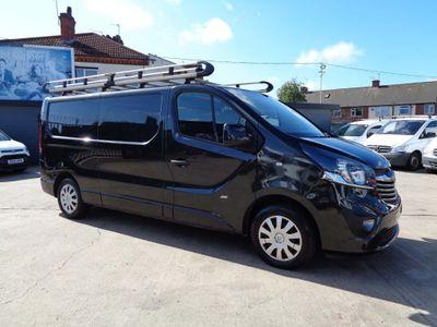 Vauxhall Vivaro Panel Van 1.6 CDTi 2900 BiTurbo ecoFLEX Sportive L2 H1 EU5 (s/s) 5dr