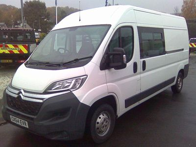 Citroen Relay Other 2.0 BlueHDi 35 Enterprise Ready To Run Crew Van L3 H2 EU6 5dr