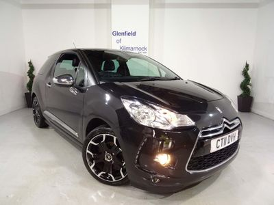 CITROEN DS3 Hatchback 1.6 HDi DSport Plus 3dr
