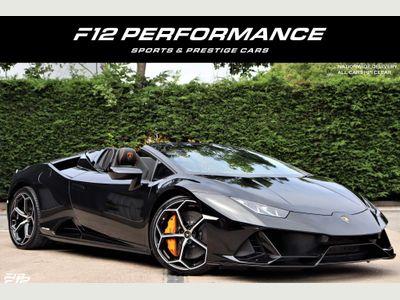 Lamborghini Huracan Convertible 5.2 V10 LP 640-4 EVO Spyder LDF 4WD (s/s) 2dr