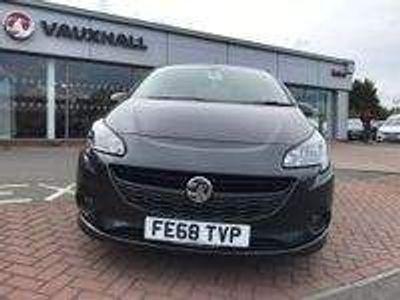 Vauxhall Corsa Hatchback 1.4i ecoTEC SRi VX Line Nav Black 3dr