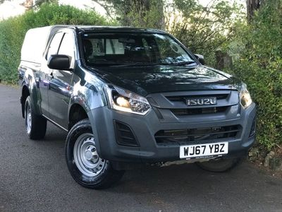 Isuzu D-Max Pickup 1.9 TD Utility Extended Cab Pickup 4WD EU6 2dr