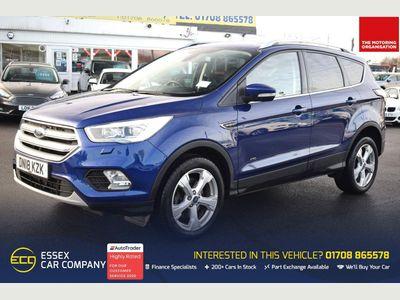 Ford Kuga SUV 2.0 TDCi Titanium X Powershift AWD (s/s) 5dr