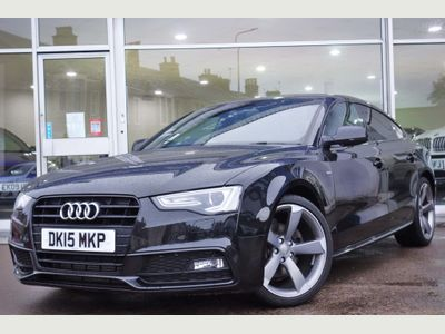 Audi A5 Hatchback 1.8 TFSI Black Edition Plus Sportback Multitronic 5dr