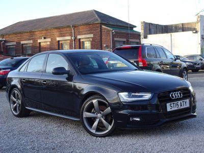 Audi A4 Saloon 2.0 TDI Black Edition (s/s) 4dr