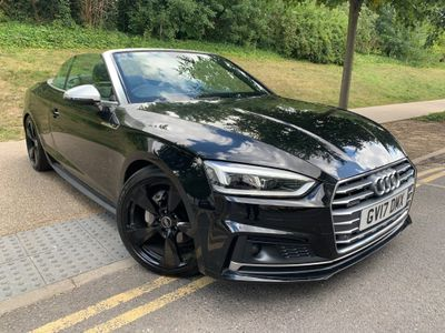 Audi A5 Cabriolet Convertible 3.0 TDI V6 S line Cabriolet S Tronic quattro (s/s) 2dr