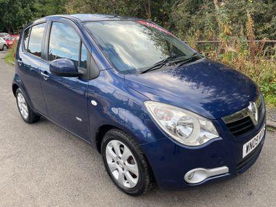Vauxhall Agila Hatchback 1.2 16V Design 5dr (a/c)