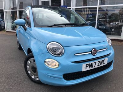 Fiat 500C Convertible 1.2 8V Pop Dualogic (s/s) 2dr