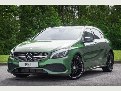 Mercedes-Benz A Class Hatchback 1.5 A180d AMG Line (Premium Plus) 7G-DCT (s/s) 5dr