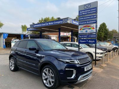 Land Rover Range Rover Evoque SUV 2.0 TD4 Autobiography Auto 4WD (s/s) 5dr