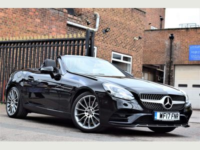 Mercedes-Benz SLC Convertible 2.0 SLC200 AMG Line G-Tronic (s/s) 2dr