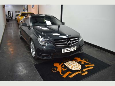 Mercedes-Benz C Class Coupe 2.1 C250 CDI AMG Sport Edition 7G-Tronic Plus 2dr (Map Pilot)