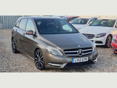 MERCEDES-BENZ B CLASS Hatchback 1.6 B180 BlueEFFICIENCY Sport 7G-DCT (s/s) 5dr