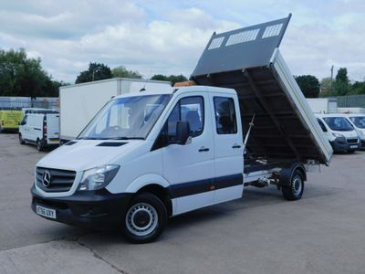 Mercedes-Benz Sprinter Tipper 2.1CDI 140PS 314 CREW CAB TIPPER