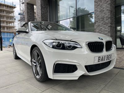BMW 2 Series Convertible 1.5 218i M Sport Auto (s/s) 2dr