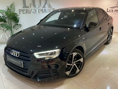 Audi A3 Saloon 1.5 TFSI CoD 35 Black Edition S Tronic (s/s) 4dr