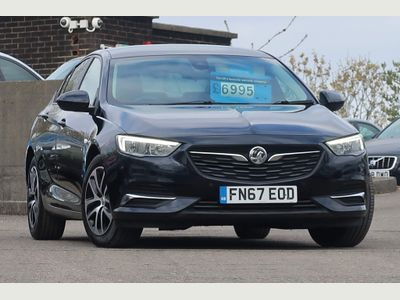 Vauxhall Insignia Hatchback 1.6 Turbo D ecoTEC Design Nav Grand Sport (s/s) 5dr