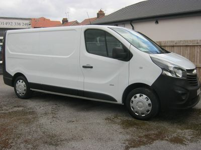 Vauxhall Vivaro Panel Van 2900 1.6 CDTi 115PS L2 LWB