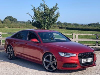 Audi A6 Saloon Saloon 3.0 TDI Black Edition S Tronic quattro 4dr