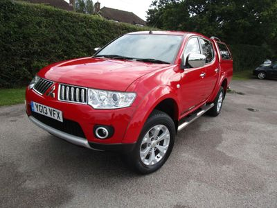 MITSUBISHI L200 Pickup 2.5 DI-D CR Warrior LB Double Cab Pickup 4WD 4dr (EU5)