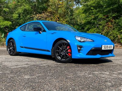 Toyota GT86 Coupe 2.0 Boxer D-4S Club Series Blue Edition 2dr